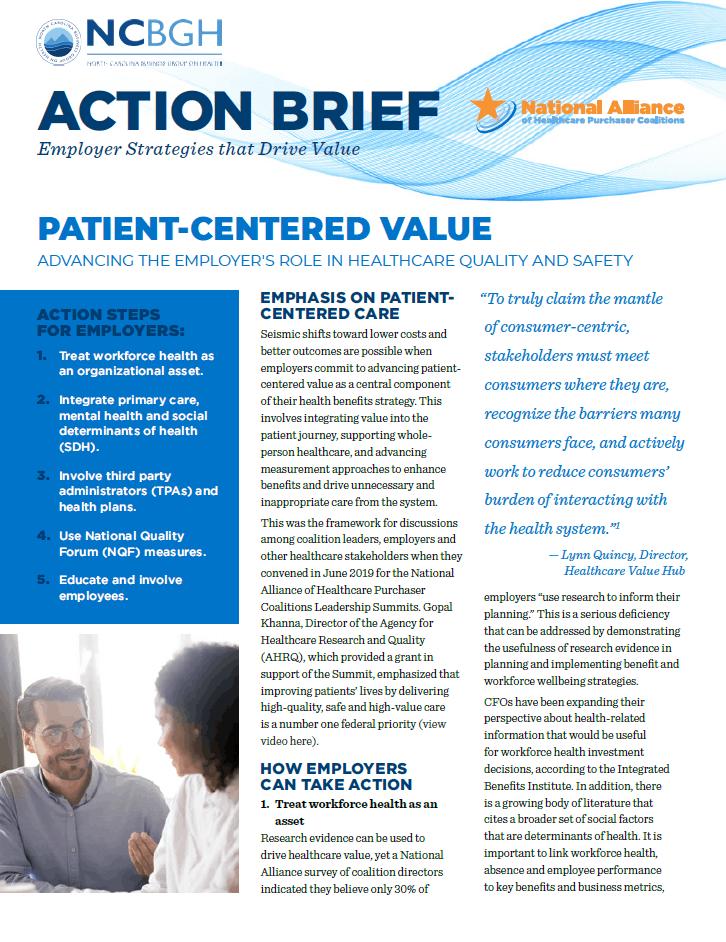 Patient-Centered Value
