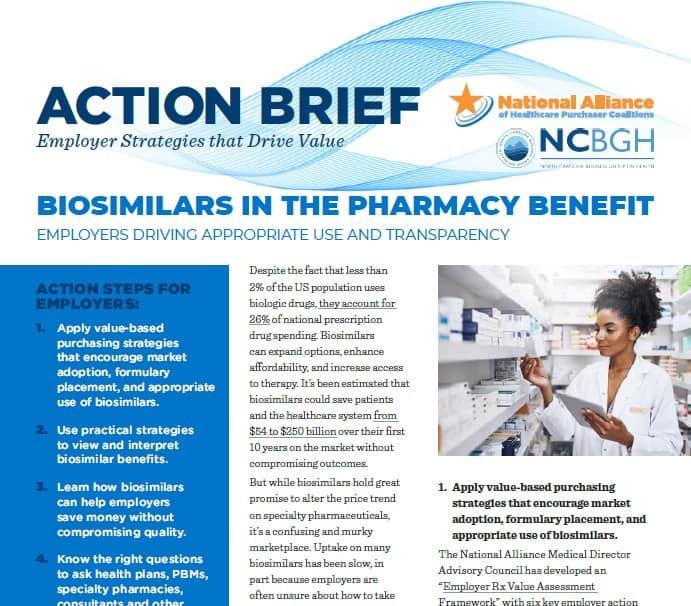 Biosimilars in the Pharmacy Benefit