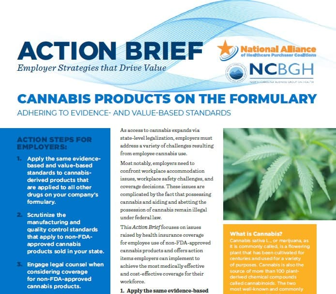 Cannabis Products on the Formulary