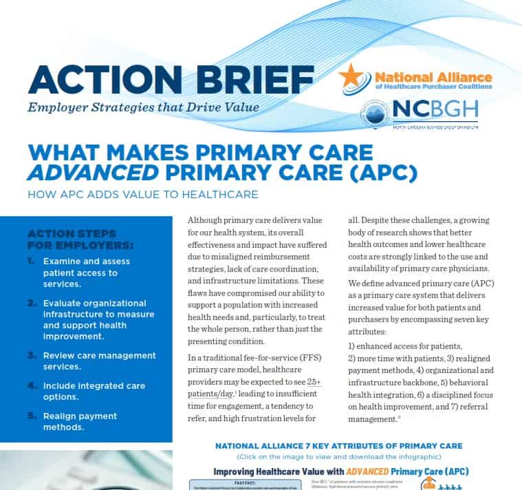 What Makes Primary Care Advanced Primary Care