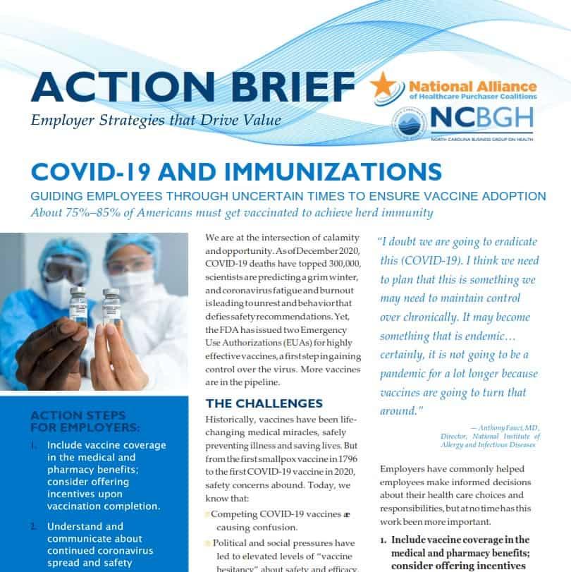 COVID-19 and Immunizations